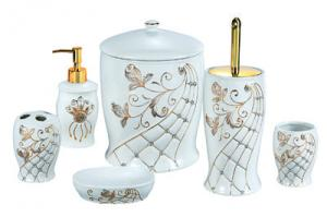Stylish Ceramic Bathroom Set 6PCS