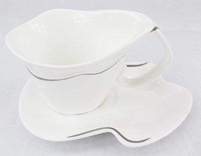 Flower Design Coffee Cup & Saucer set